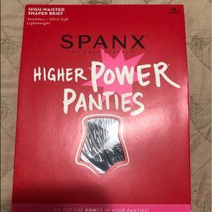 Spanx high waisted panties. Black